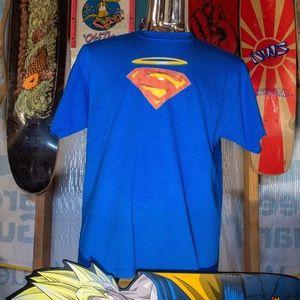 Blue Superman Halo T-shirt